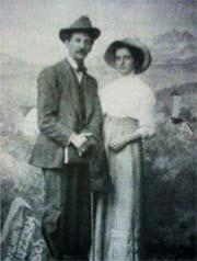 Ο Δελμούζος με τη γυναίκα του