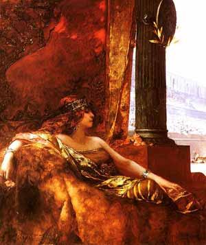 Benjamin-Constant Η αυτοκράτειρα Θεοδώρα στο Κολοσσαίο.