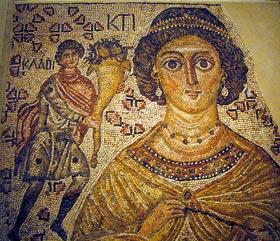 Βυζαντινό μωσαϊκό 500-550 μ.Χ.