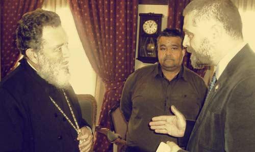 Επίσκεψη-υποδοχή του Απ. Γκλέτσου, στη Μητρόπολη Χαλκίδος, Ιστιαίας και Βορείων Σποράδων