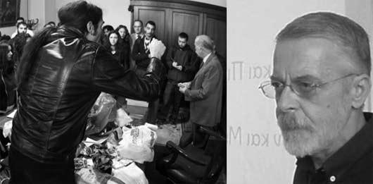 Πολιτισμένος διάλογος επί τω έργω και ο πρόεδρος της Φιλοσοφικής ΑΠΕ κ. Τζιφόπουλος που τον ερμήνευσε προτείνοντας την κατάλληλη γιατρειά…