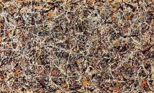 Jackson Pollock από το 1949 είχε προβλέψει τον εγκέφαλο του Αμβροσίου...
