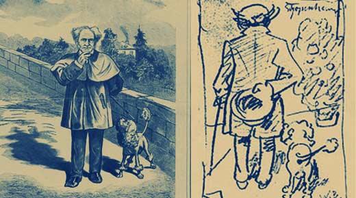 Karl Ettling και  Wilhelm Busch: ο Σοπενχάουερ και το κανίς του