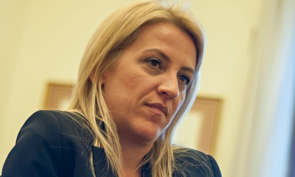 RENA DOUROU, MP OF SYRIZA PARTY