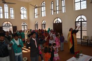 Λειτουργία σε Ορθόδοξο ναό του Πακιστάν